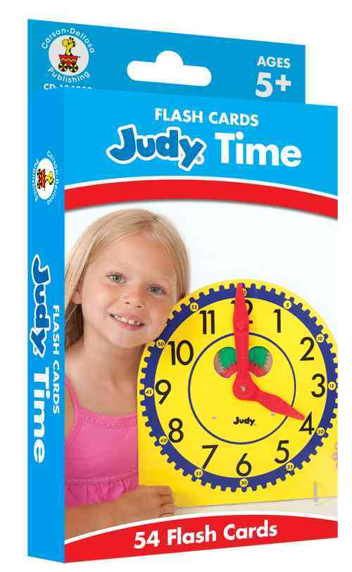 Judy Time Flash Cards, Grades K - 5 By Carson-Dellosa Publishing Company, Inc. (COR)